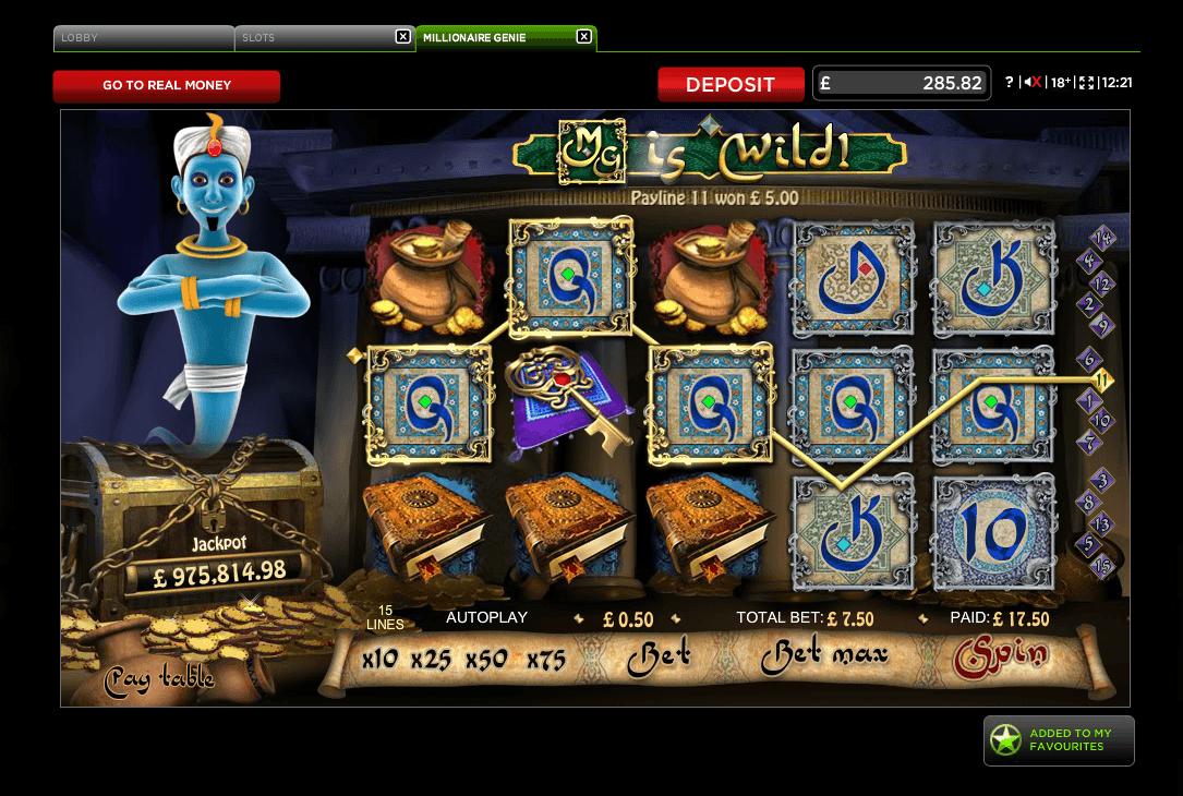 Spiele Millionaire Genie - Video Slots Online